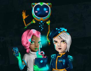 Hype Games - Character Design para UI