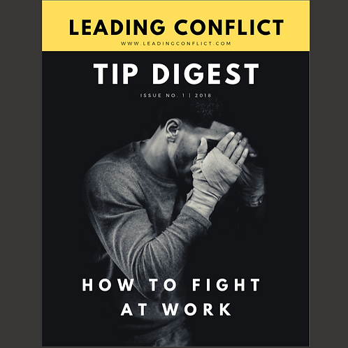 Leading Conflict: Tip Digest Issue 1