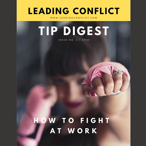 Leading Conflict: Tip Digest Issue 2