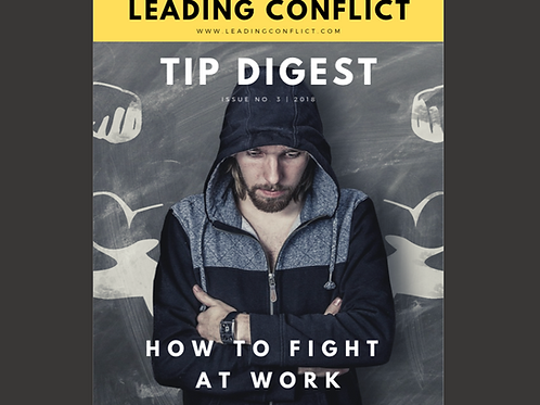 Leading Conflict: Tip Digest Issue 3