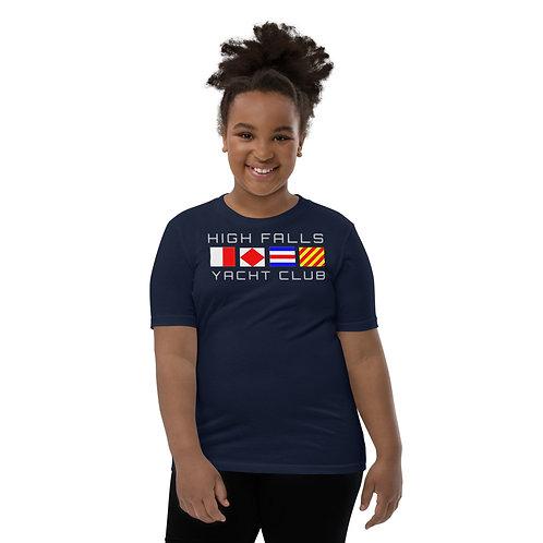 High Falls Yacht Club Unisex Youth T-Shirt