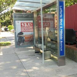 LIP Bus Shelter Campaign Lefferts Blvd a