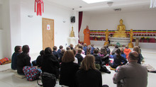 Local schools visits to ELBCC every week and our community children learn about Buddhism