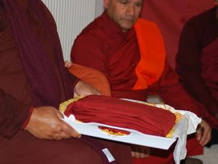 East London Buddhist Cultural Centre (Lumbini Viharaya) Annual Katina Ceremony 2015