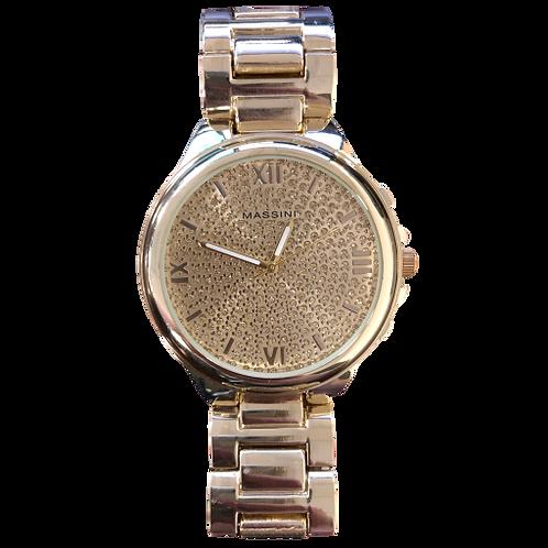Massini Gold Colored Watch
