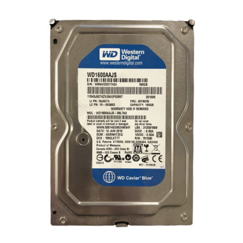 Western Digital 160GB Hard Drive