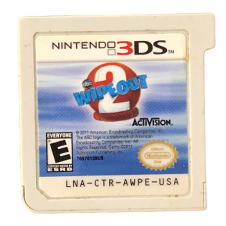 Nintendo DS Game Wipe Out 2
