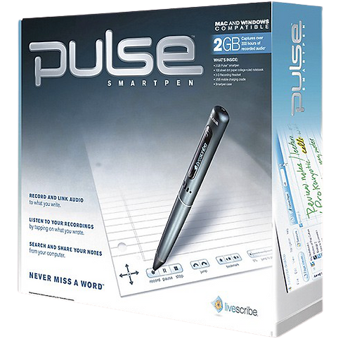 Livescribe 2 GB Pulse Smartpen