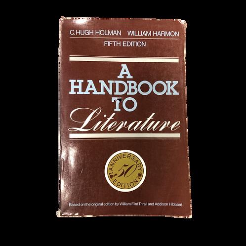 Un manual de literatura