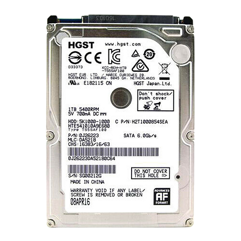 1TB HDD Hard Drive For Laptop or Playstation 3/4