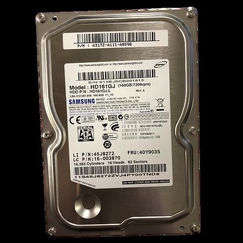 Samsung 160GB SATA 3.5 Hard Drive