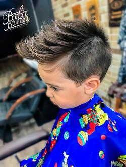 barbearia infantil