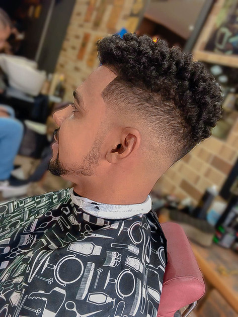 corte de cabelo masculino nudred