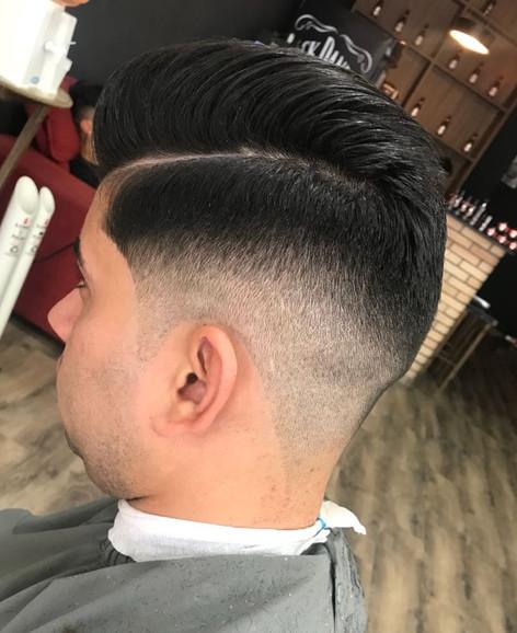 corte de cabelo com degrade