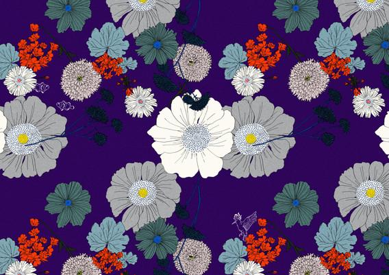 (京都伊勢丹限定)FURAWA/purple