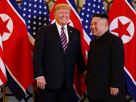Trump and Kim's Second Summit Ends In A Dud.