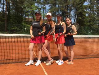 Medenrundenbericht vom TC Eisenberg vom 15.6.-17.6.2018    U 18 Mädchen siegen erneut 14:0 diesmal g
