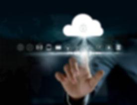 Cloud computing, futuristic display technology connectivity concept.jpg
