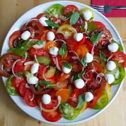 salade tomate mozarella