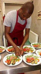 Le chef cuisinier Malick