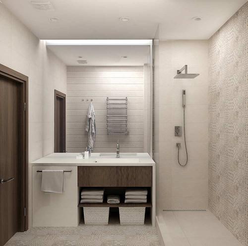 Модный интерьер ванны