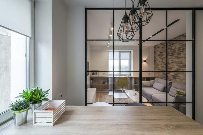 Интерьер залы в квартире фото