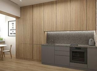 дизайн кухни с балконом 10 м2