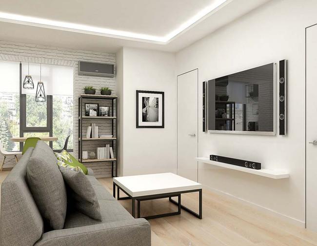 Двери скрытого монтажа в дизайне квартиры