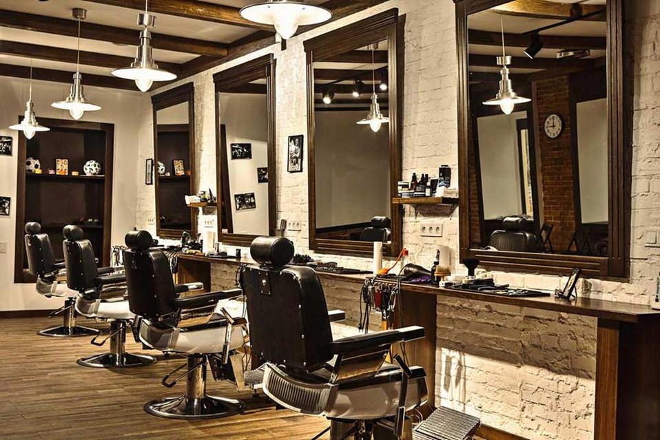 Интерьер дизайн проект парикмахерской в Днепропетровске