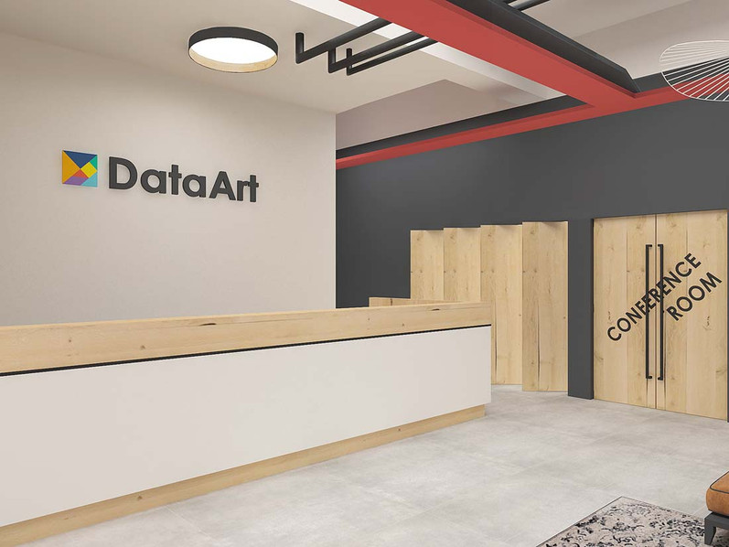 Дизайн офиса DataArt