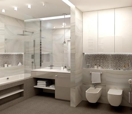 Дизайн туалета с биде