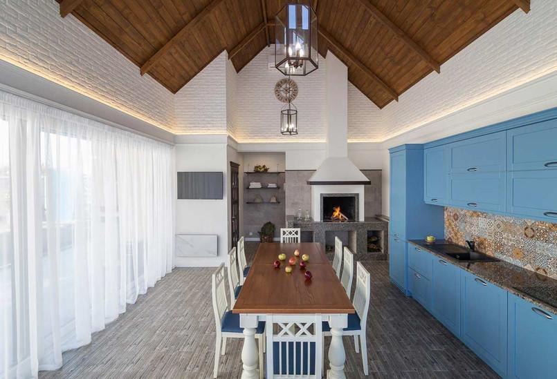 Деревянный потолок дизайн комнаты отдыха
