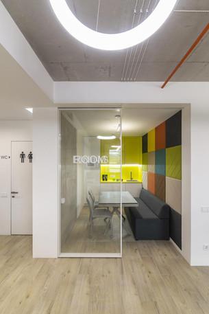 Бетон в дизайне офиса