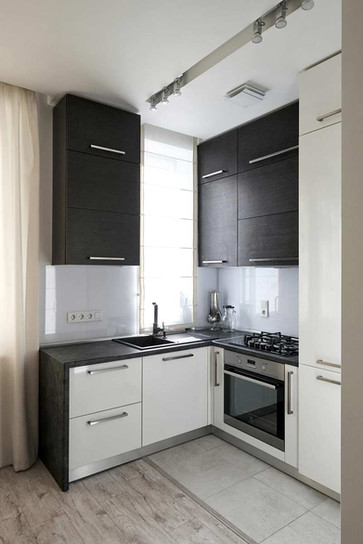 Дизайн мини кухни