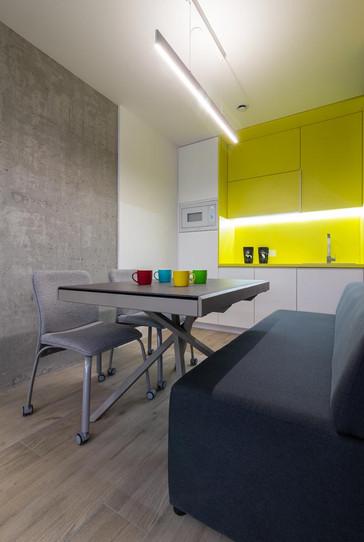 Дизайн мини-кухни фото
