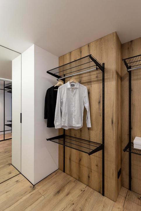 дизайн гардероба при спальне