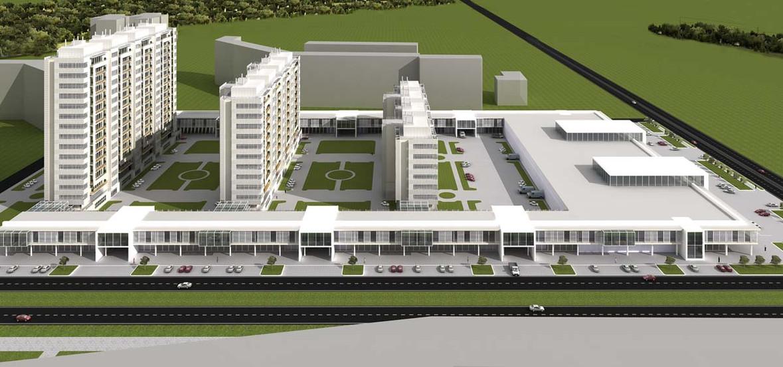 Проект многоквартирного дома 9 этажей
