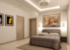 Дизайн спальни гостиничного номера