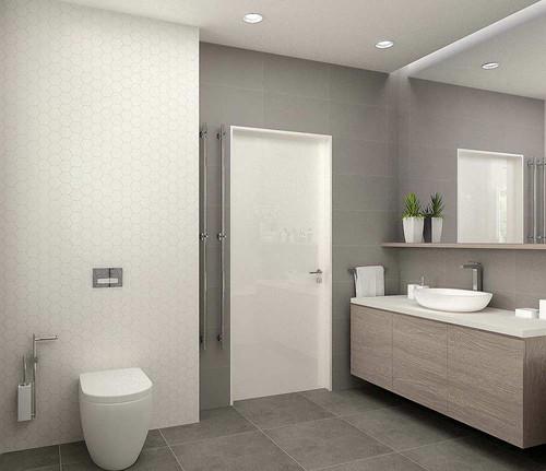 Модные интерьеры маленьких ванных комнат
