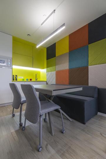 Акустические панели в дизайне офиса