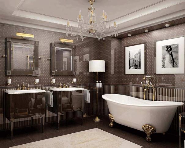 Дизайн ванной 2019 фото