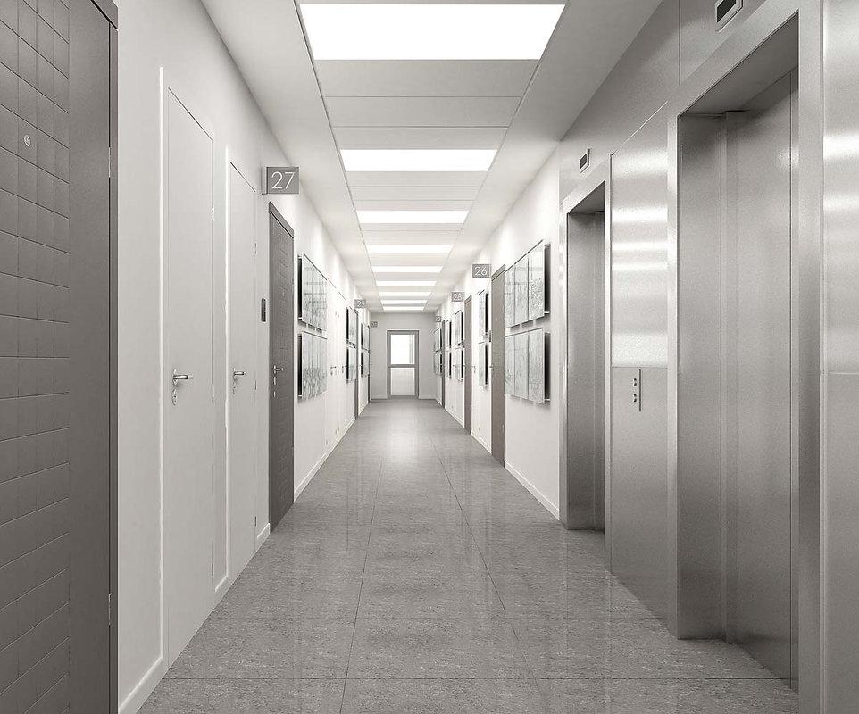 Лифтовой холл дизайн