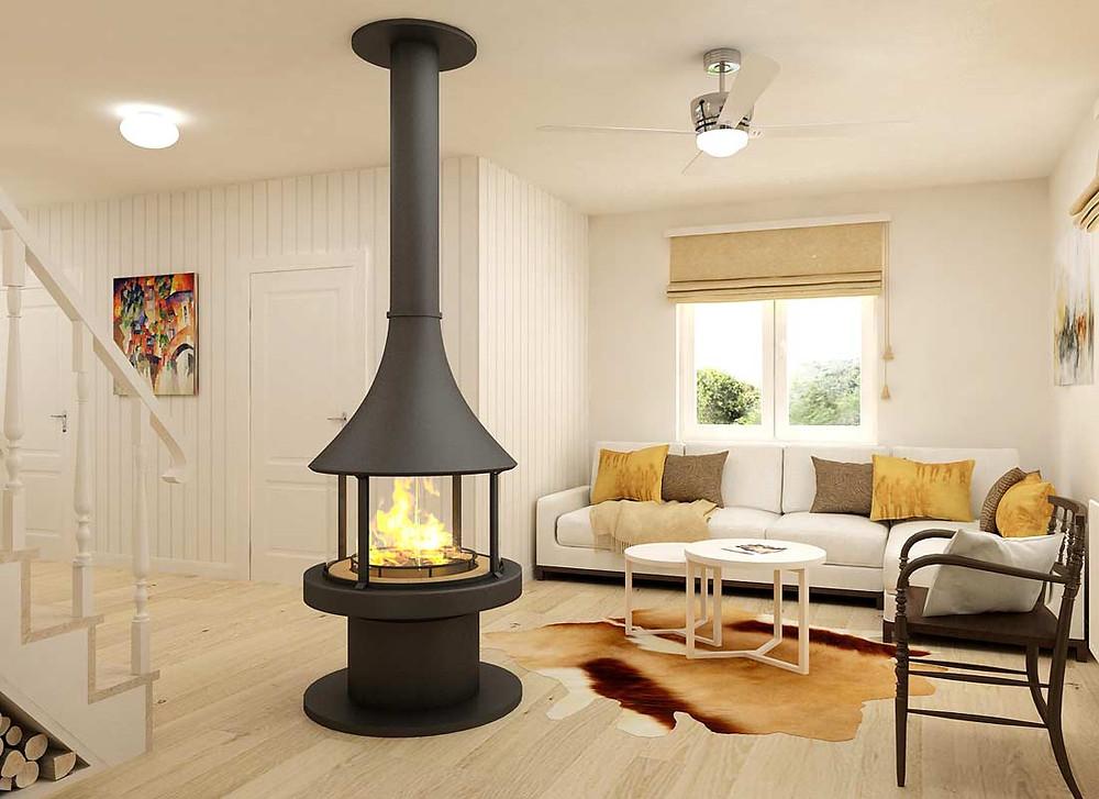 Дизайн частного дома в скандинавском стиле | студия VAKULENKODESIGN
