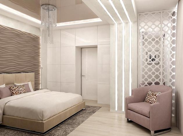 Интерьер спальни минимализм