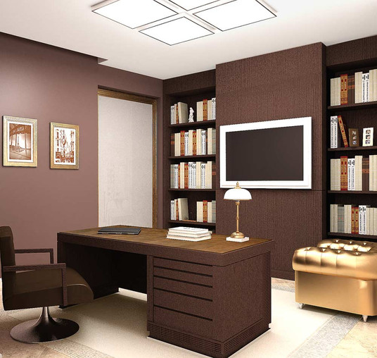 Дизайн кабинета днепр
