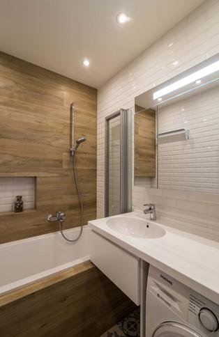 Дизайн ванной без туалета