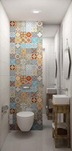 Туалет 4 кв м дизайн фото