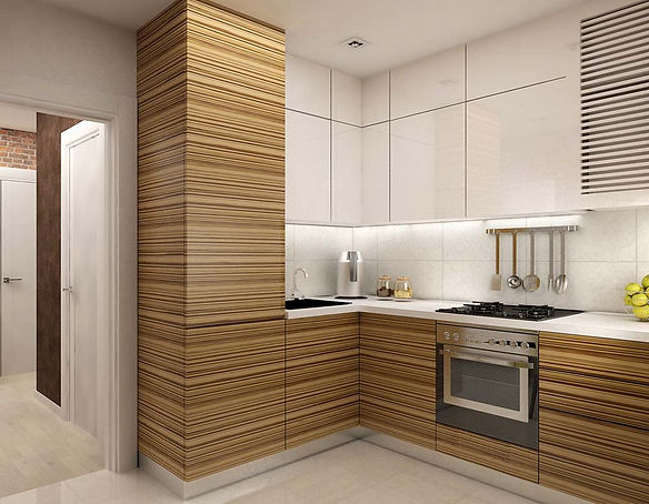 Интерьер кухни в хрущевке фото дизайн