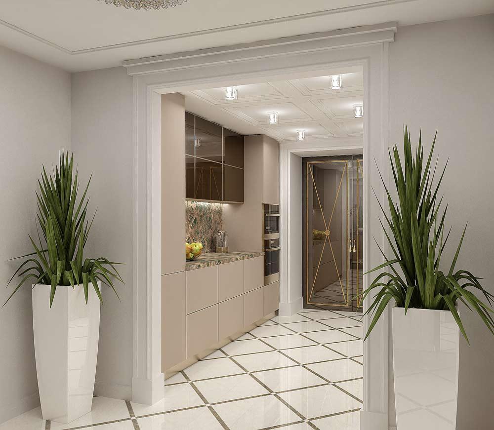 Кухня без окон дизайн интерьера фото