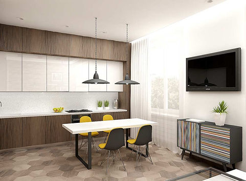 Дизайн залы в квартире